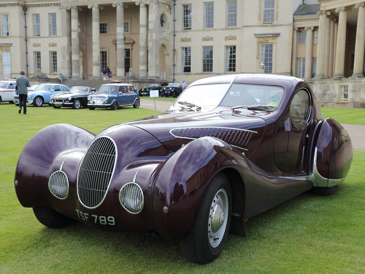 Stowe School Classic Cars At Speech Day - Classic cars 2017