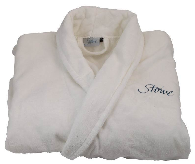 Stowe School Dressing Gown White